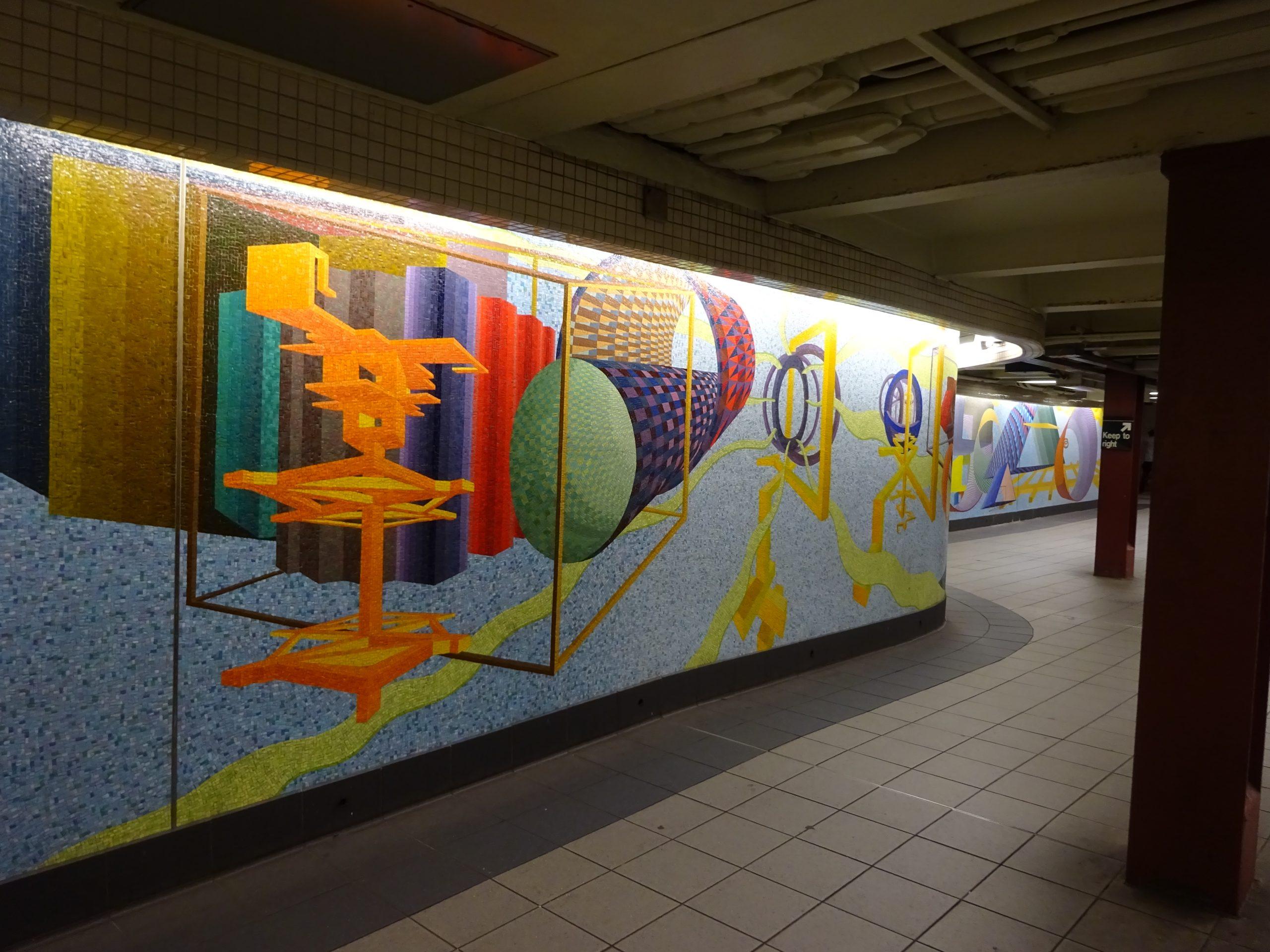 Metrostation, New York (2017)